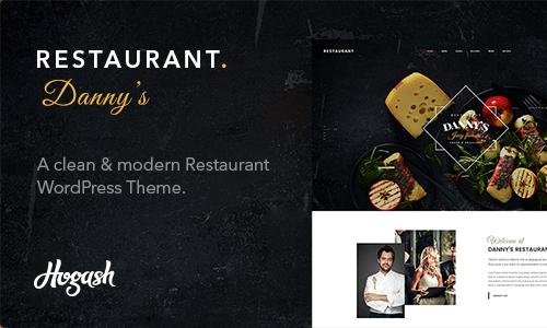 Themeforest – Restaurant Dannys