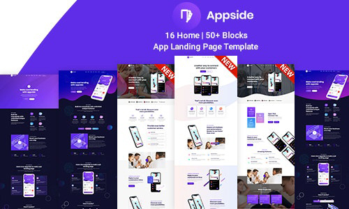 [Themeforest] Appside – App Landing Page