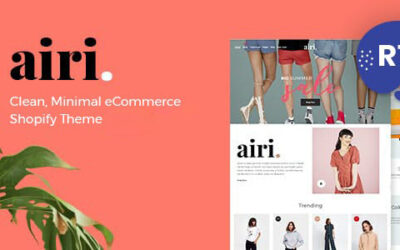 [Themeforest] Moainimal Shopify Theme – Airi Freebies Download