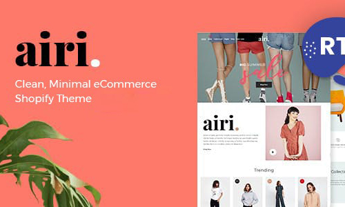 [Themeforest] Moainimal Shopify Theme – Airi Freebies Download