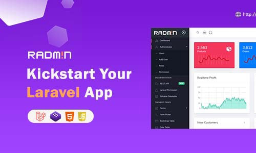 Codecanyon – Radmin – Laravel Admin starter with REST API, User Roles & Permission Freebies Download