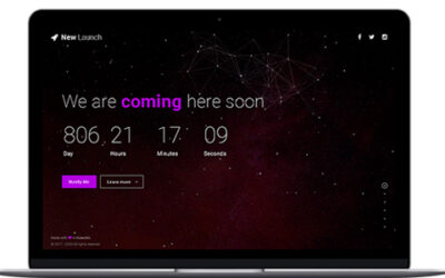 Themeforest New Launch – Responsive Coming Soon Page HTML Freebies Download